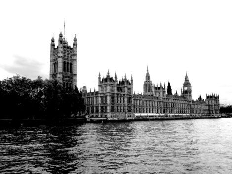 Westminster b+w